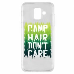 Чехол для Samsung A6 2018 Camp hair don't care