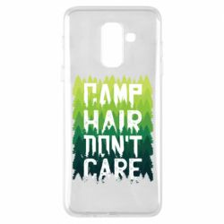 Чехол для Samsung A6+ 2018 Camp hair don't care