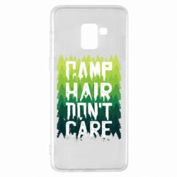 Чехол для Samsung A8+ 2018 Camp hair don't care