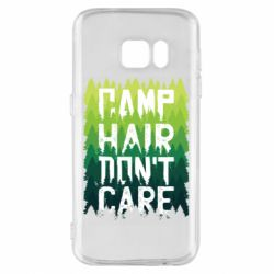 Чехол для Samsung S7 Camp hair don't care