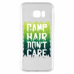 Чехол для Samsung S7 EDGE Camp hair don't care