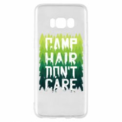 Чехол для Samsung S8 Camp hair don't care