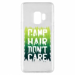 Чехол для Samsung S9 Camp hair don't care