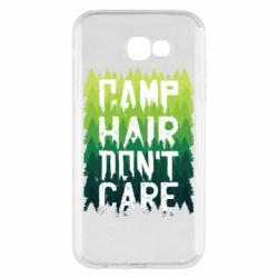 Чехол для Samsung A7 2017 Camp hair don't care