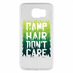 Чехол для Samsung S6 Camp hair don't care