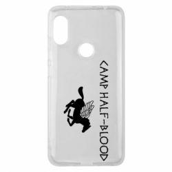 Чехол для Xiaomi Redmi Note 6 Pro Camp half-blood