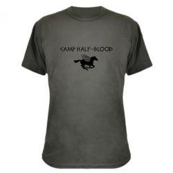 Камуфляжная футболка Camp half-blood - FatLine