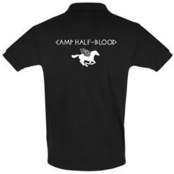Футболка Поло Camp half-blood - FatLine