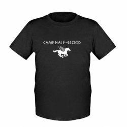 Детская футболка Camp half-blood - FatLine