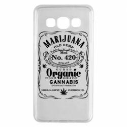 Чохол для Samsung A3 2015 Cannabis label