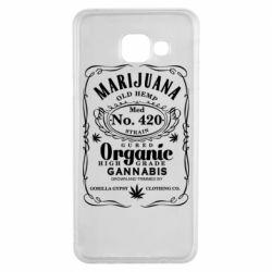 Чохол для Samsung A3 2016 Cannabis label