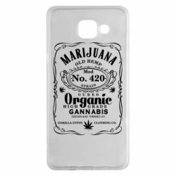 Чохол для Samsung A5 2016 Cannabis label