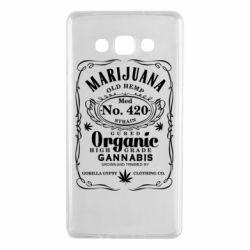 Чохол для Samsung A7 2015 Cannabis label