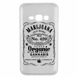 Чохол для Samsung J1 2016 Cannabis label