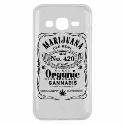Чохол для Samsung J2 2015 Cannabis label