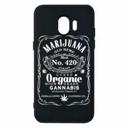 Чохол для Samsung J2 2018 Cannabis label
