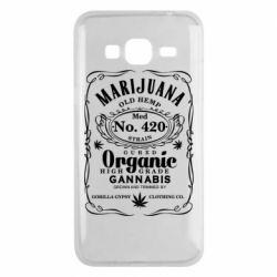 Чохол для Samsung J3 2016 Cannabis label