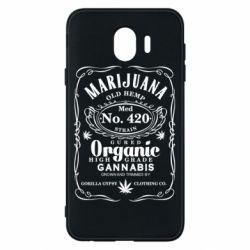 Чохол для Samsung J4 Cannabis label