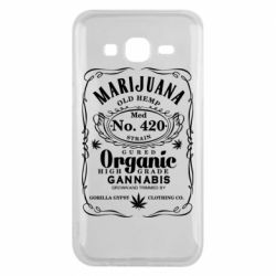 Чохол для Samsung J5 2015 Cannabis label