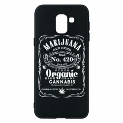Чохол для Samsung J6 Cannabis label