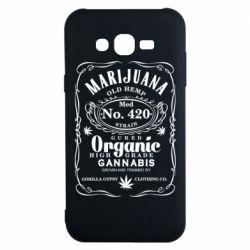Чохол для Samsung J7 2015 Cannabis label