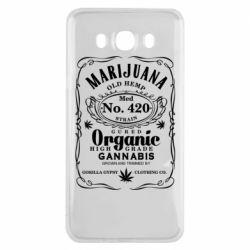 Чохол для Samsung J7 2016 Cannabis label