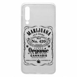 Чохол для Xiaomi Mi9 Cannabis label