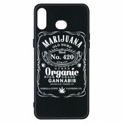 Чохол для Samsung A6s Cannabis label