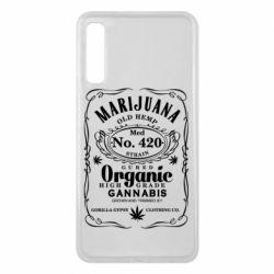 Чохол для Samsung A7 2018 Cannabis label