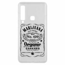 Чохол для Samsung A9 2018 Cannabis label