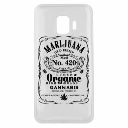 Чохол для Samsung J2 Core Cannabis label