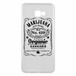 Чохол для Samsung J4 Plus 2018 Cannabis label