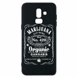 Чохол для Samsung J8 2018 Cannabis label