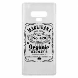Чохол для Samsung Note 9 Cannabis label