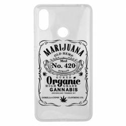Чохол для Xiaomi Mi Max 3 Cannabis label