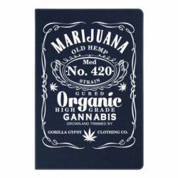 Блокнот А5 Cannabis label