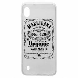 Чохол для Samsung A10 Cannabis label