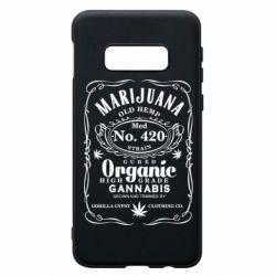 Чохол для Samsung S10e Cannabis label