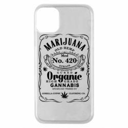 Чохол для iPhone 11 Pro Cannabis label