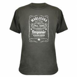 Камуфляжна футболка Cannabis label