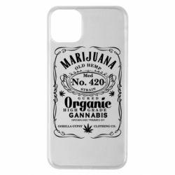 Чохол для iPhone 11 Pro Max Cannabis label