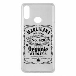 Чохол для Samsung A10s Cannabis label