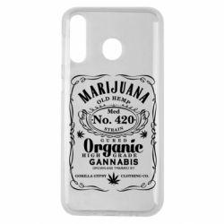 Чохол для Samsung M30 Cannabis label