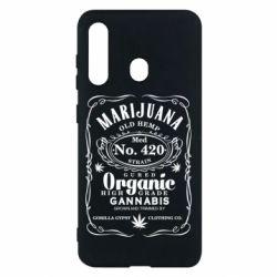 Чохол для Samsung M40 Cannabis label