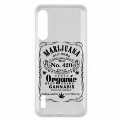 Чохол для Xiaomi Mi A3 Cannabis label