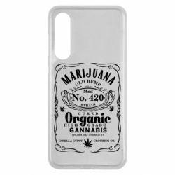 Чохол для Xiaomi Mi9 SE Cannabis label
