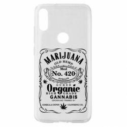 Чохол для Xiaomi Mi Play Cannabis label