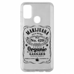 Чохол для Samsung M30s Cannabis label