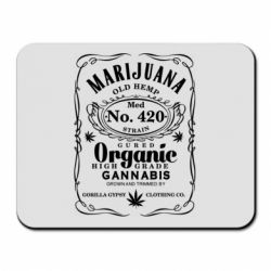 Килимок для миші Cannabis label