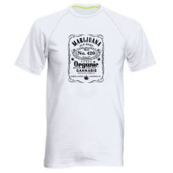 Чоловіча спортивна футболка Cannabis label